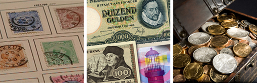 We buy your coins, stamps and banknotes