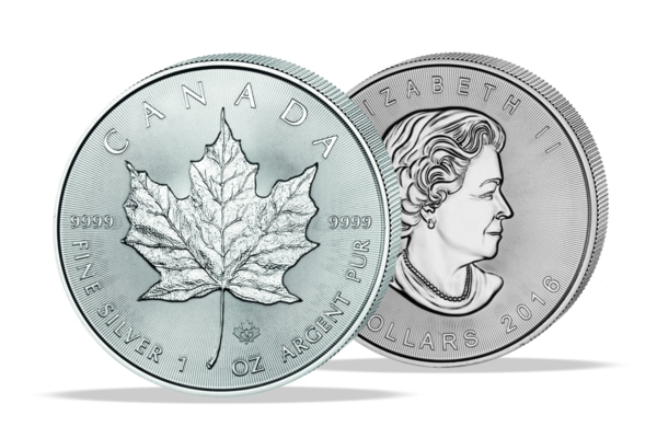Maple Leaf 2016 - 1 Oz. Zilver .999