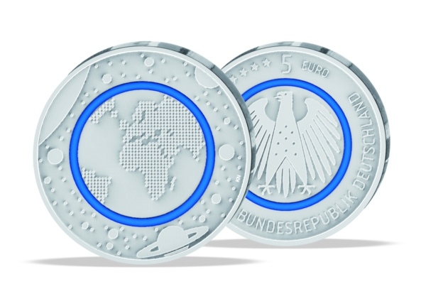5 Euro Germany 2016 - Blue Planet - UNC