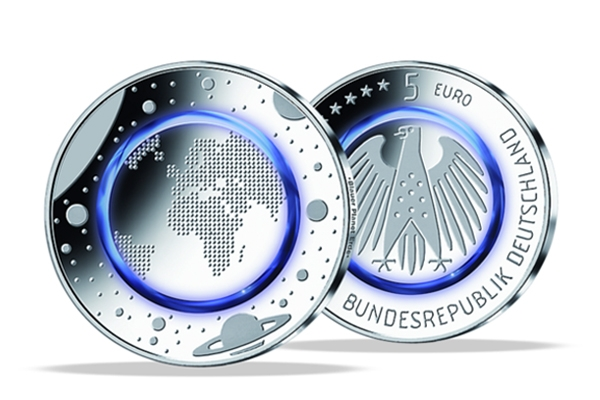 5 Euro Germany 2016 - Blue Planet - PROOF