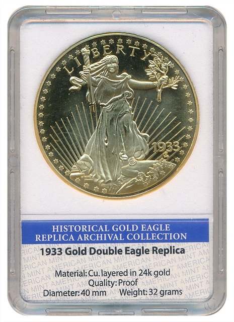 United States - Replica Gold Double Eagle 1933 - PROOF