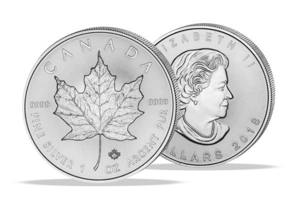 Maple Leaf 2018 - 1 Oz. Zilver .999