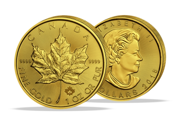 Maple Leaf 2018 - 1 Oz. Goud .999