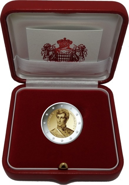 2 euro Monaco 2019 - PROOF - Honorius V BE